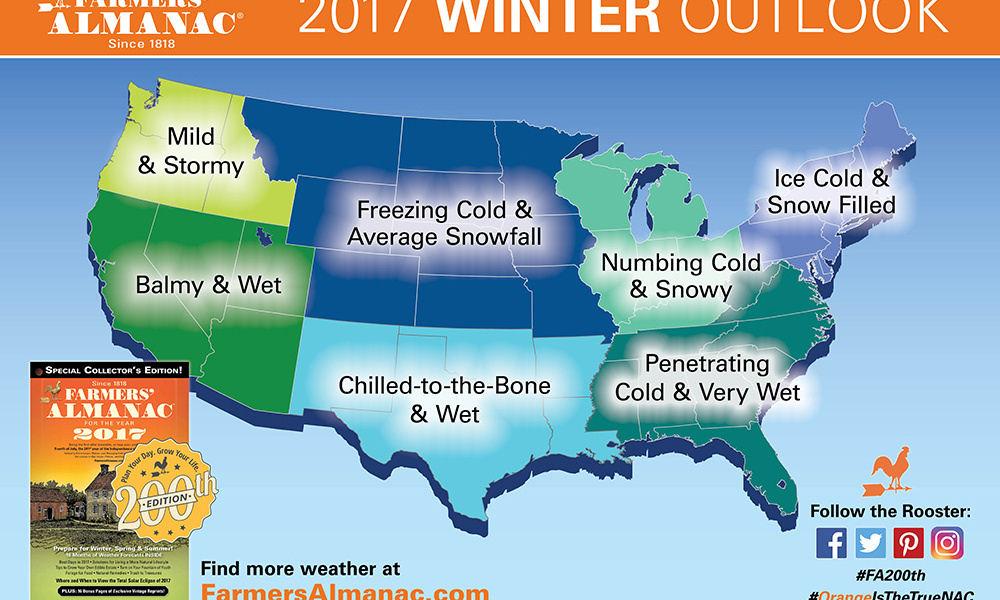 winter forecast 2016-2017